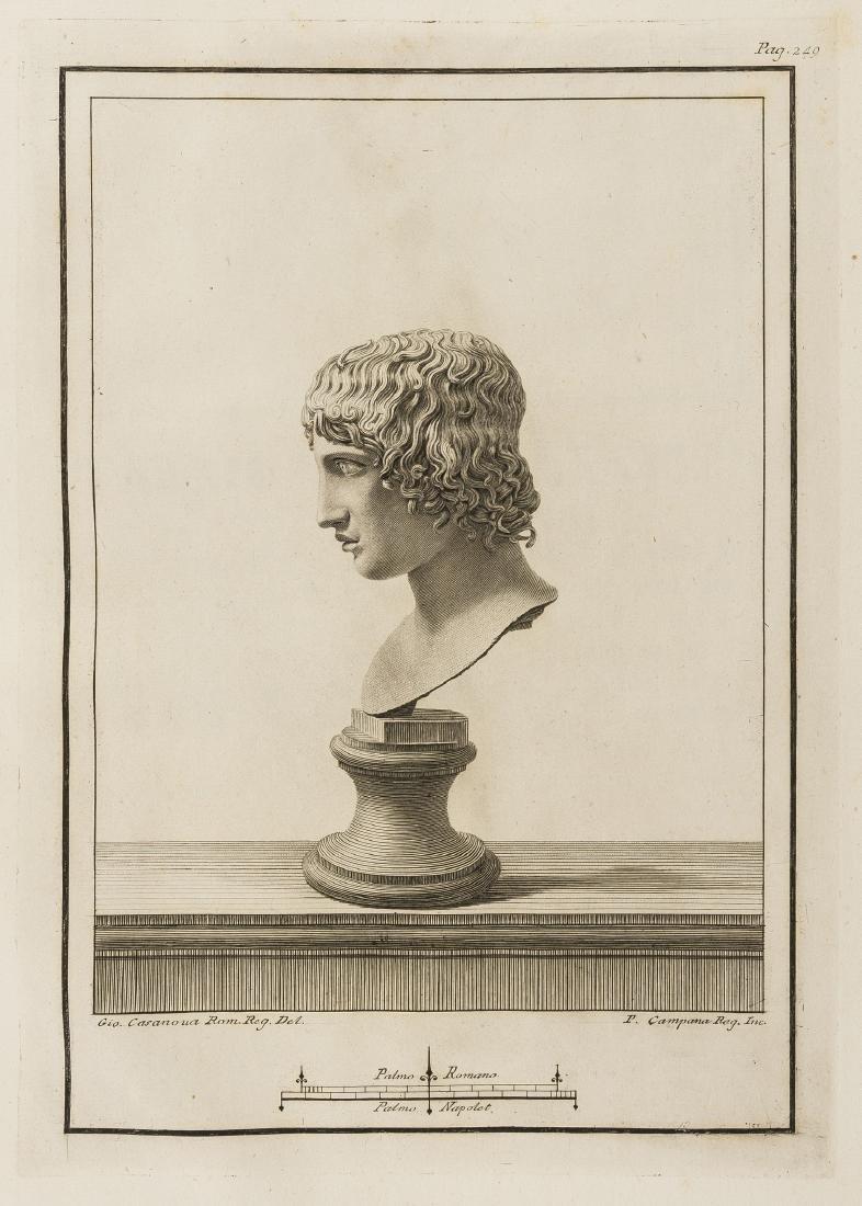Piroli (Tommaso) Le Antichita di Ercolano, 7 vol. only