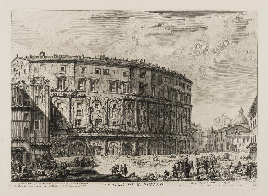 Piranesi (Giovanni Battista, 1720-1788) Teatro di