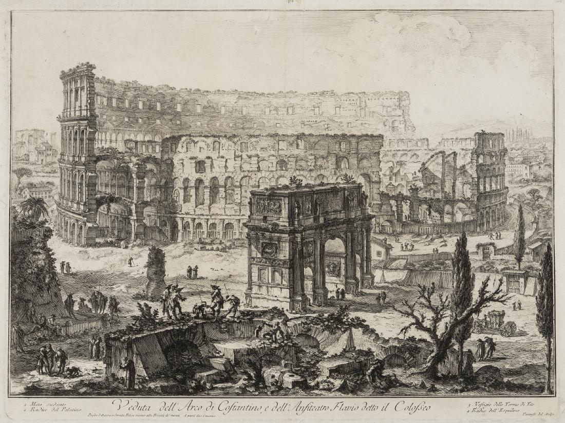Piranesi (Giovanni Battista, 1720-1788) Vedute dell'