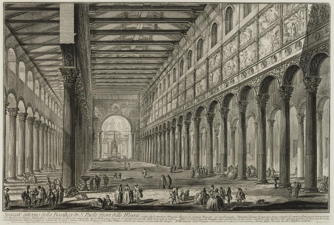 Piranesi (Giovanni Battista) Veduta del Pantheon - 2