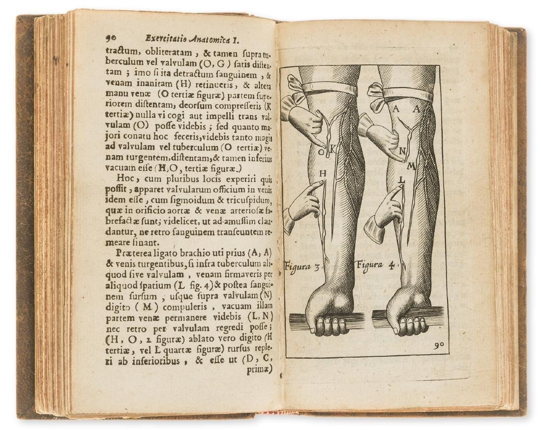 Anatomy.- Harvey (William) Exercitationes anatomicae,