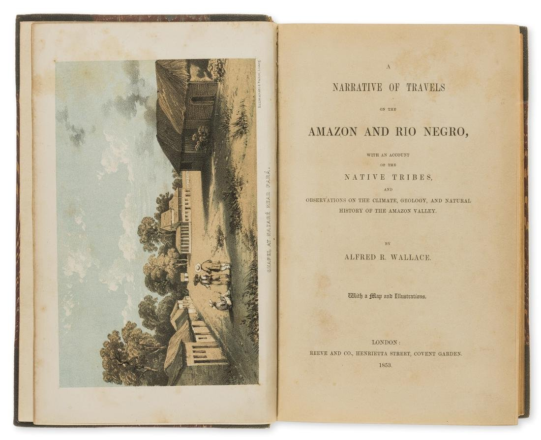 Americas.- Wallace (Alfred Russel) A Narrative of
