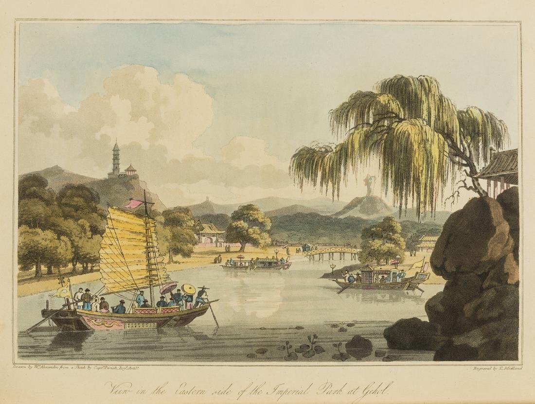 Asia.- Barrow (John) Travels in China, first edition,