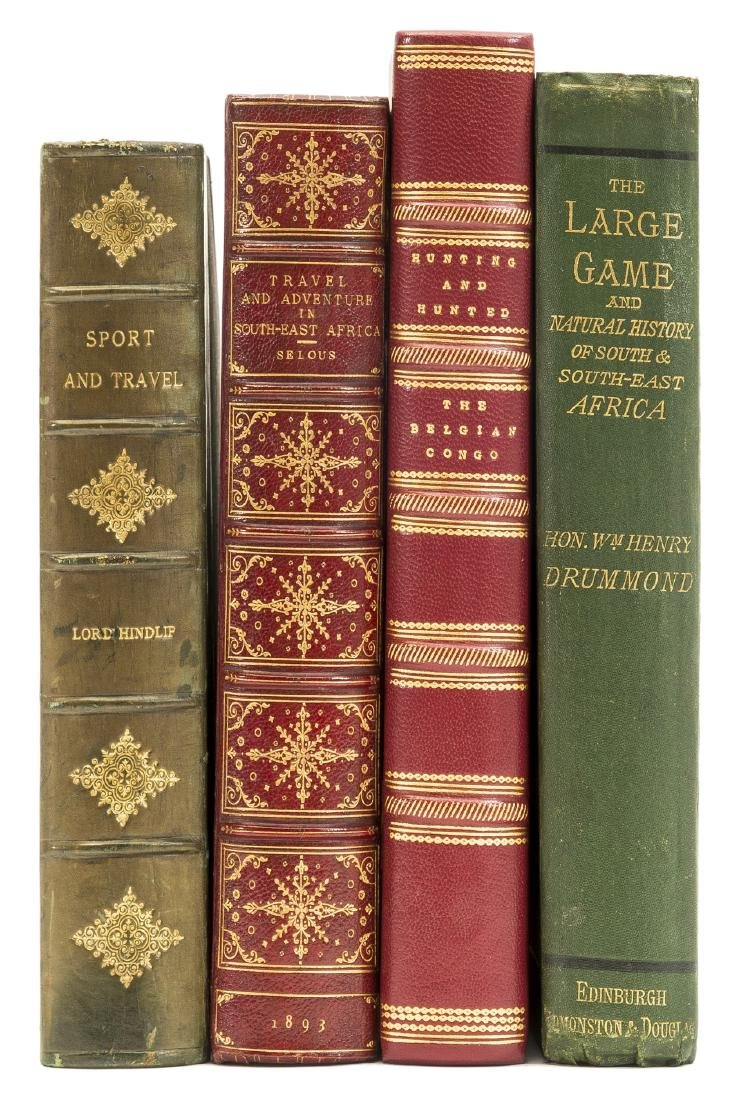 Africa.- Drummond (William Henry) he Large Game and