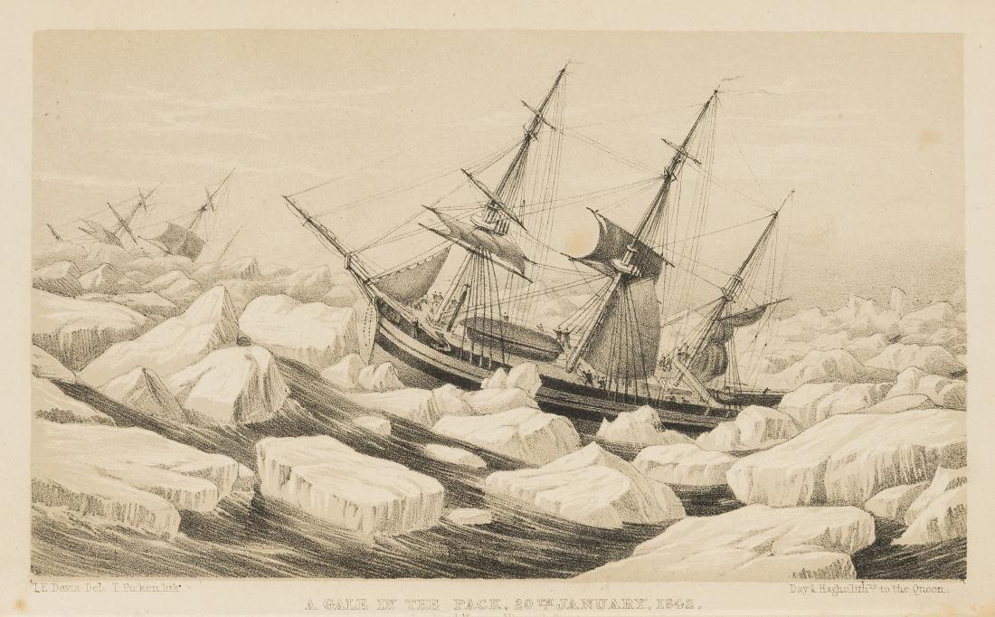 Polar.- Ross (Capt. Sir James Clark) A Voyage of