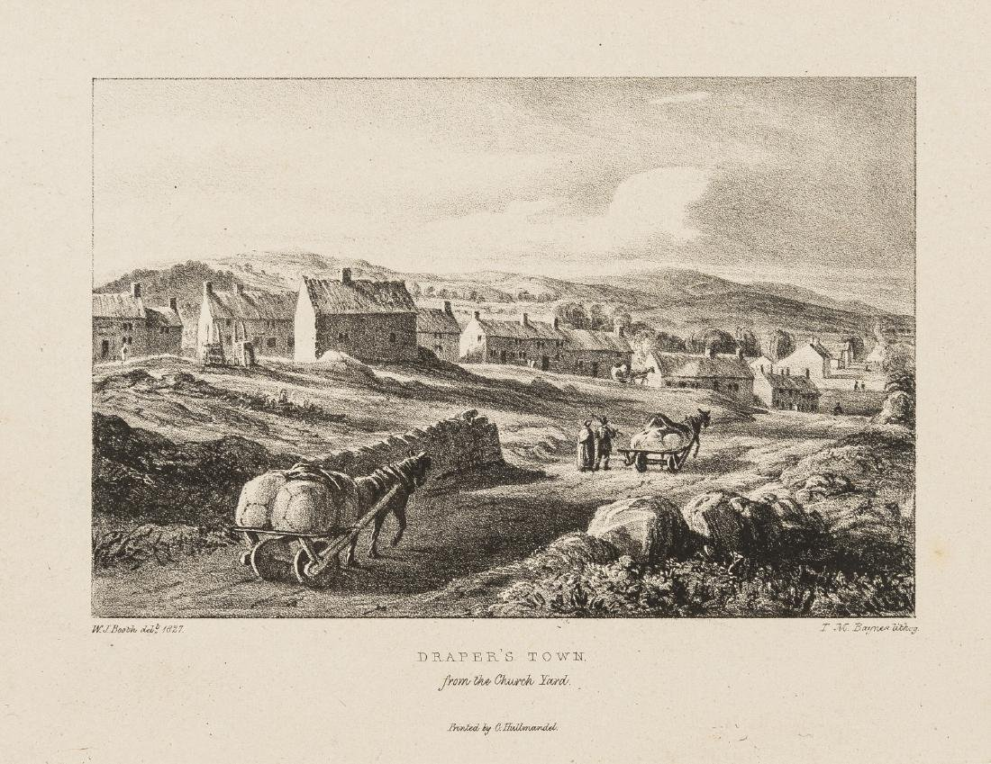 Ireland.- [Booth (W.J.)] Sketches at Moneymore and
