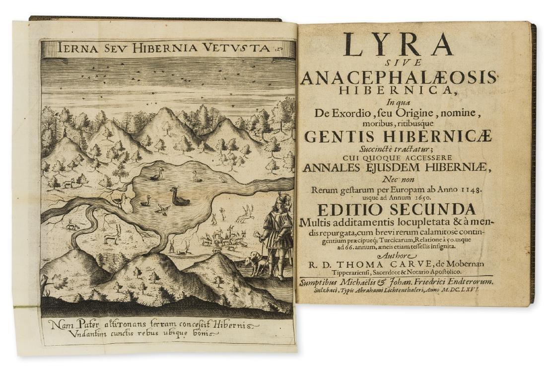 Ireland.- Carve (Thomas) Lyra sive Anacephalaeosis