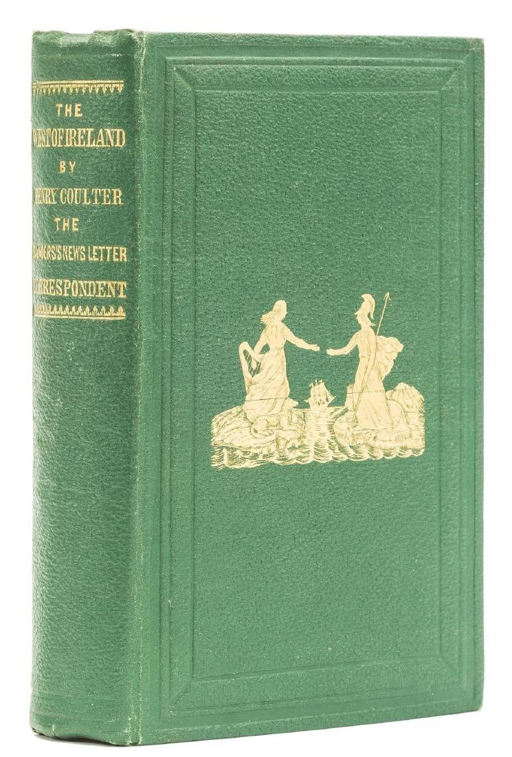 Ireland.- Coulter (Henry) West of Ireland, 1862.
