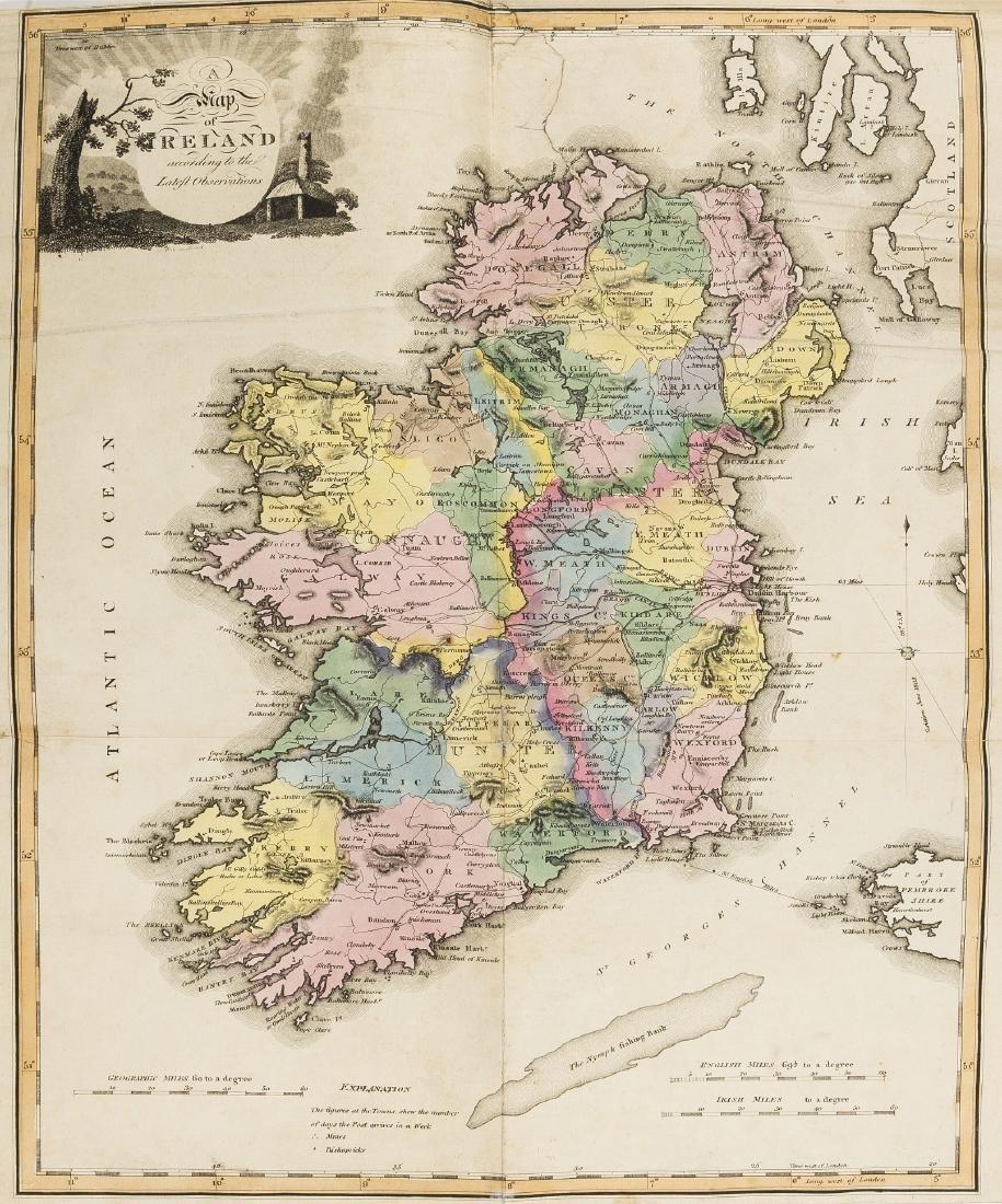 Ireland.- New and Correct Irish Atlas, engraved general