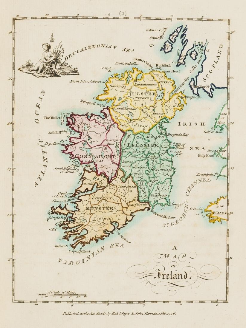 Ireland.- Scalé (Bernard) An Hibernian Atlas; or