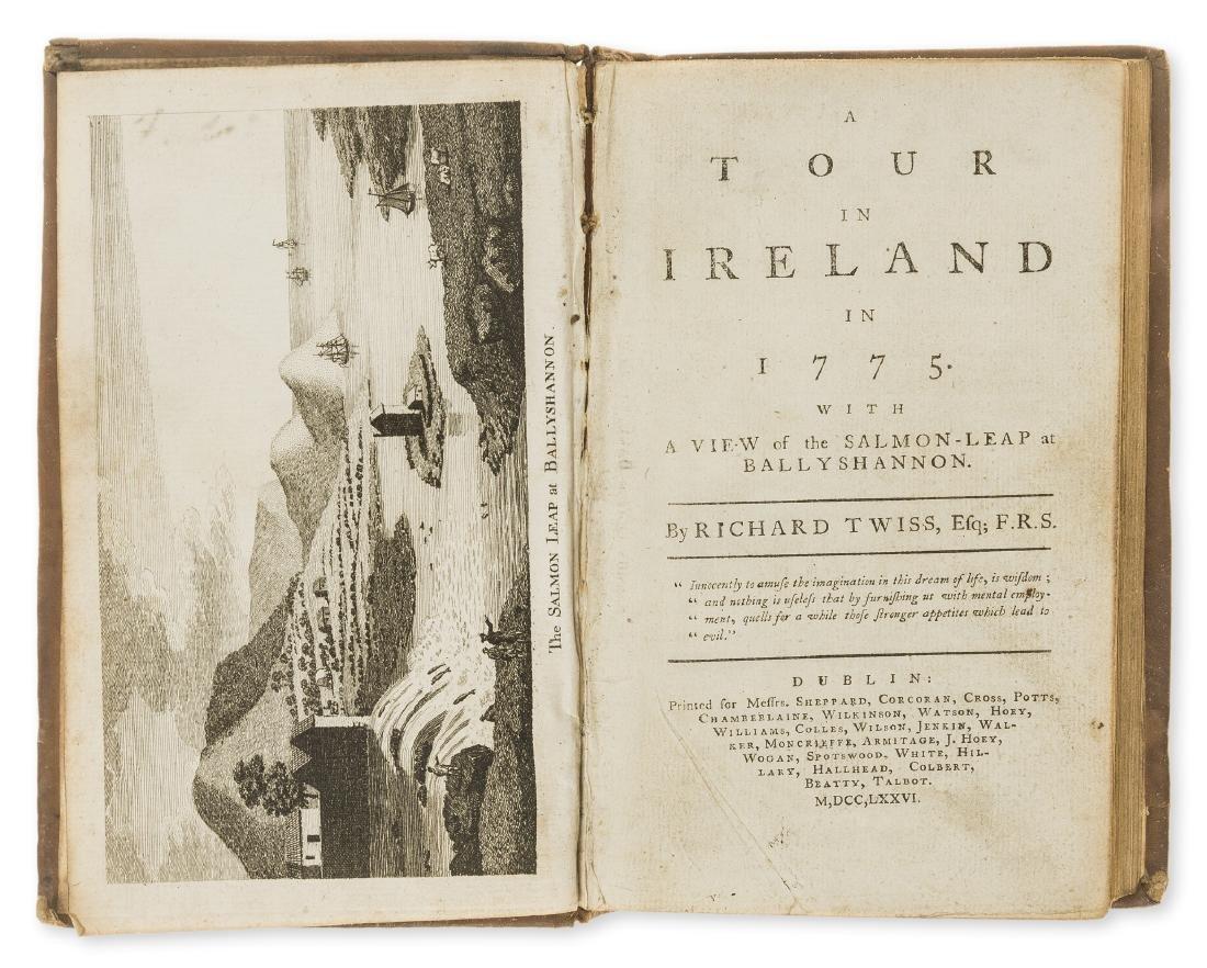 Ireland.- Twiss (Richard) A Tour in Ireland, first