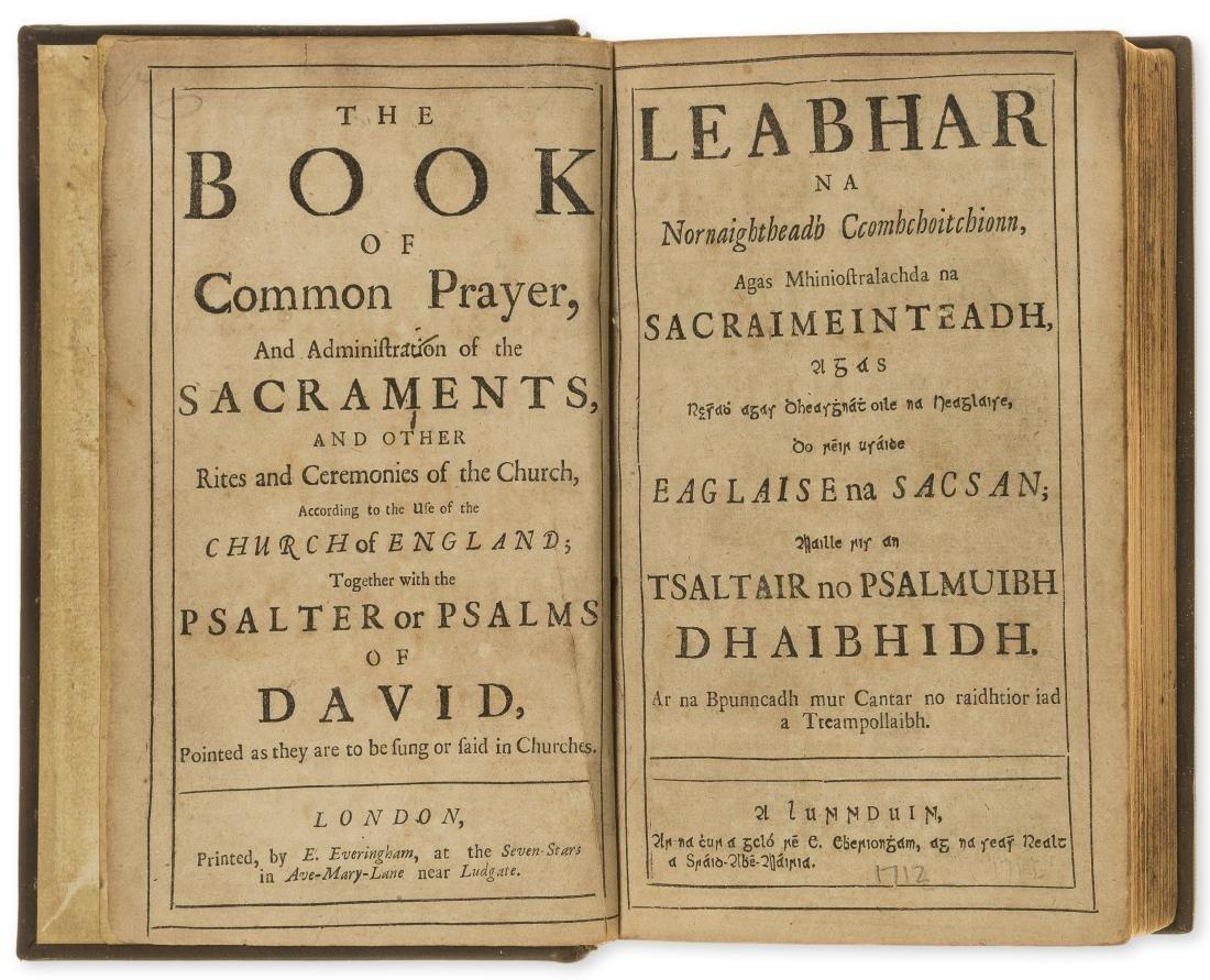 Ireland.- Book of Common Prayer in Irish.- Leabhar, na