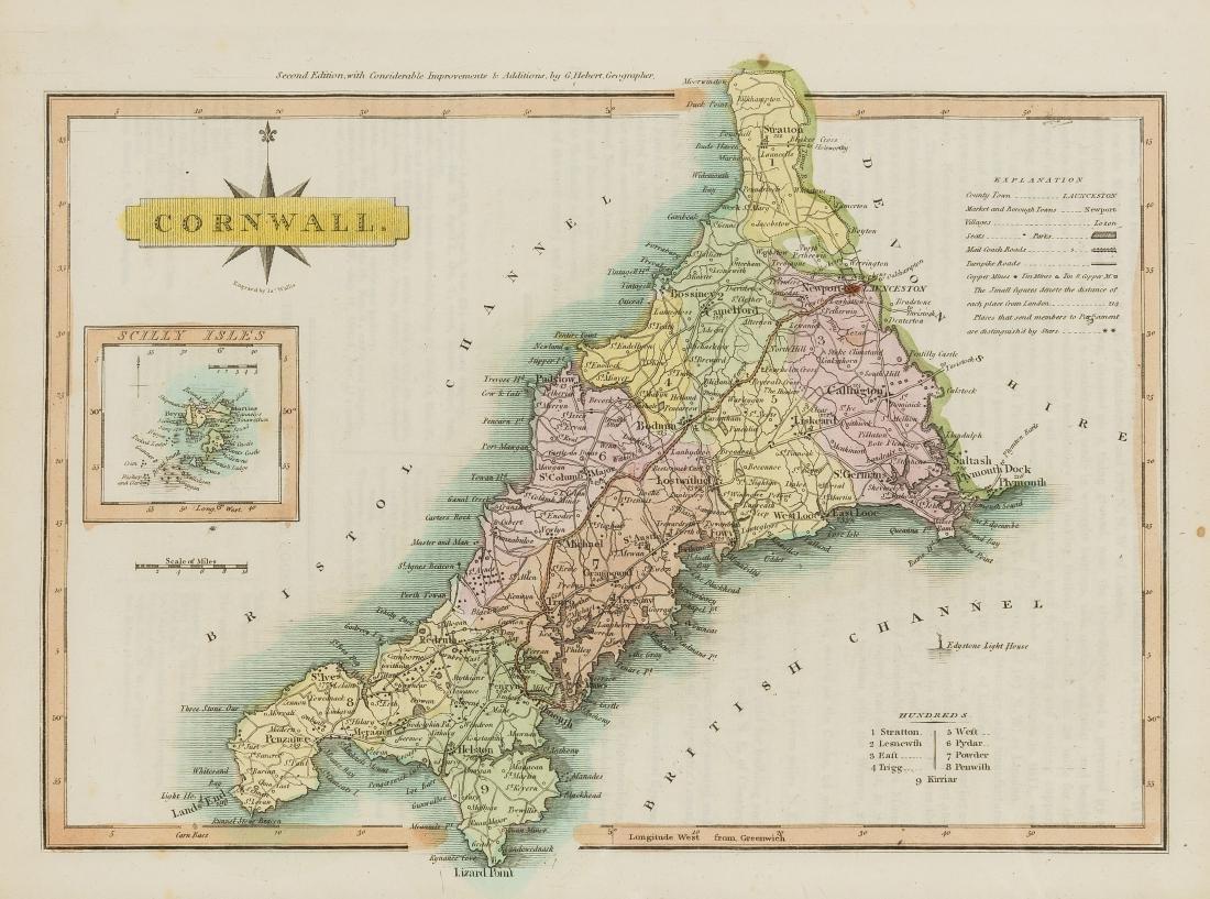 Britain.- Ellis (George) New and Correct Atlas, 45