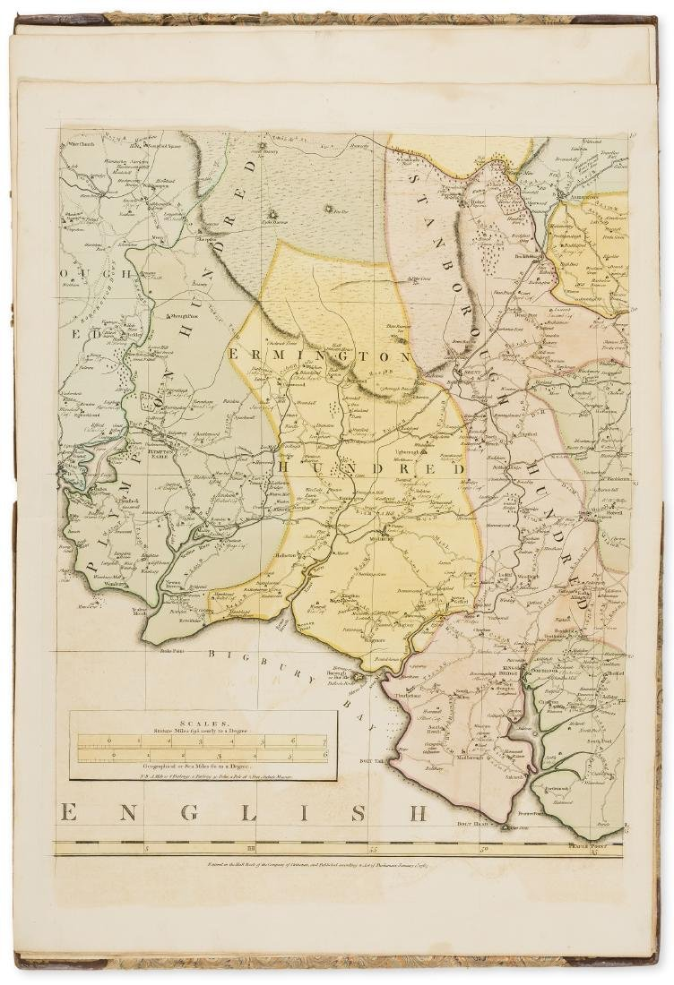 Devon.- Donn (Benjamin) A Map of the County of Devon,