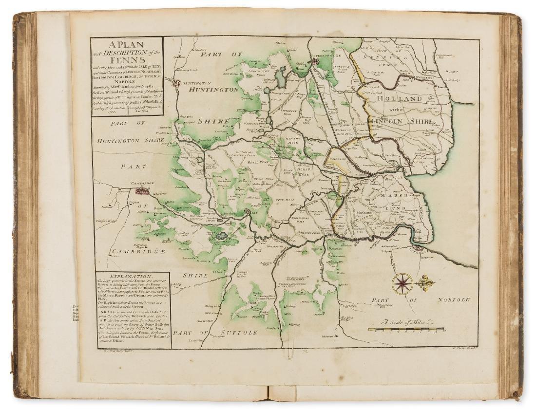 Norfolk.- [Badeslade (Thomas)] The History of the