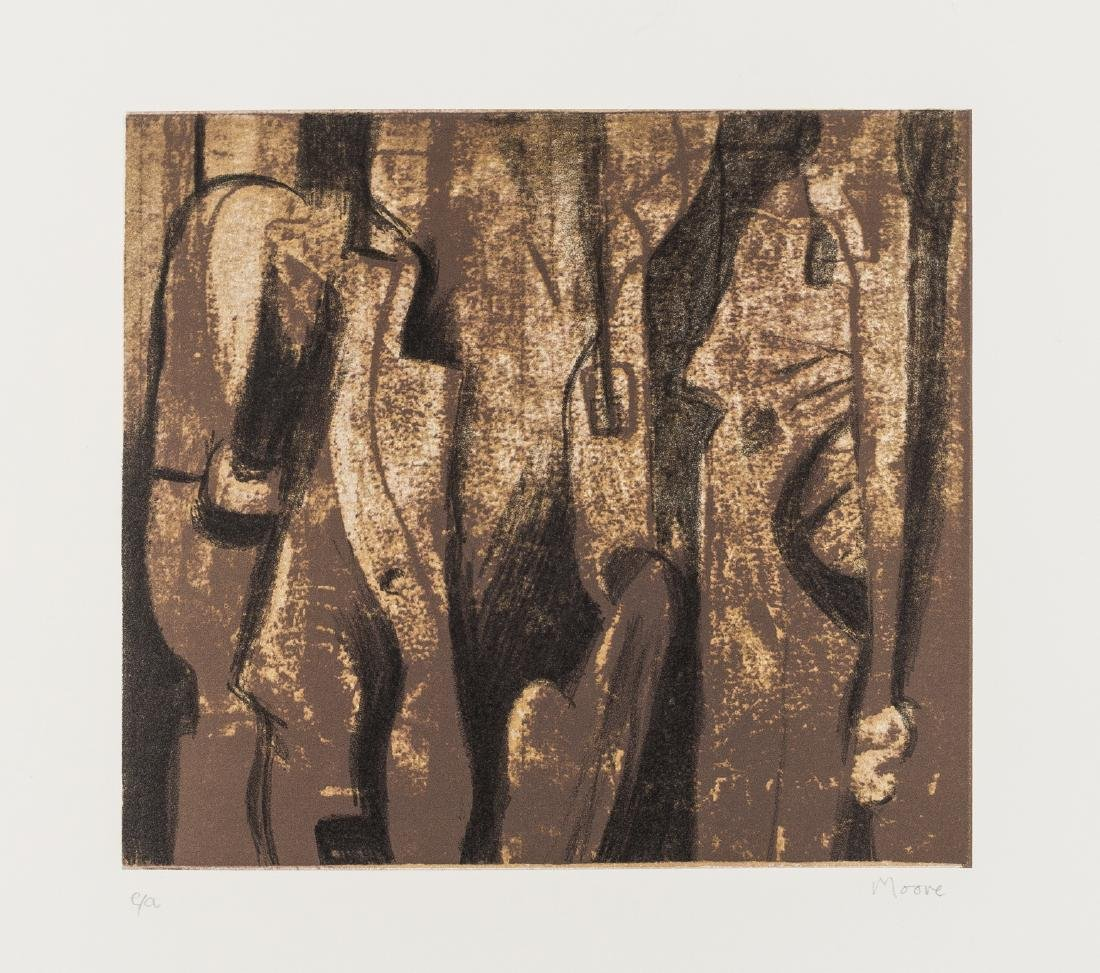 δ Henry Moore (1898-1986)  The Attendants (Cramer