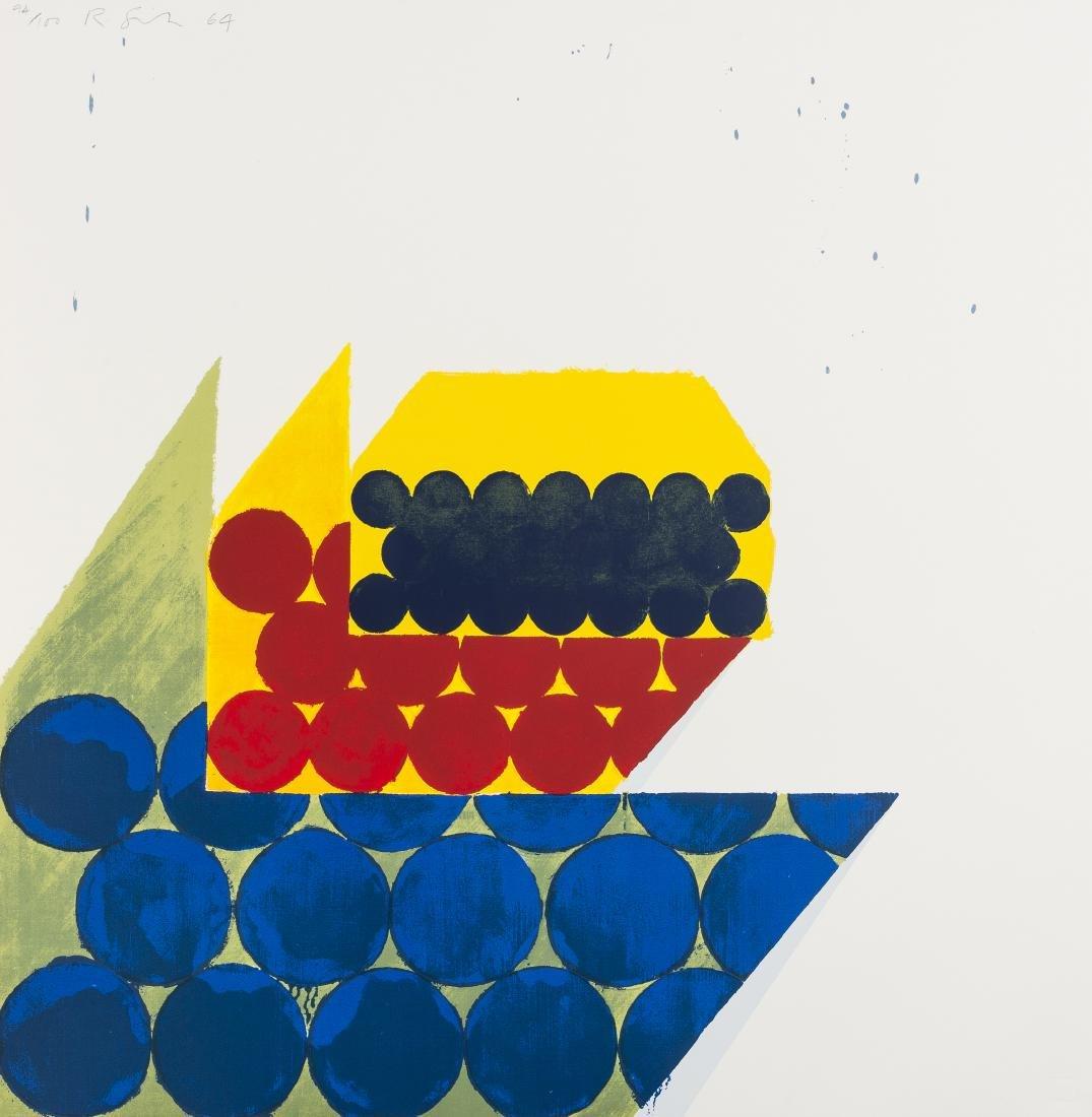 δ Richard Smith (1931-2016)  Untitled