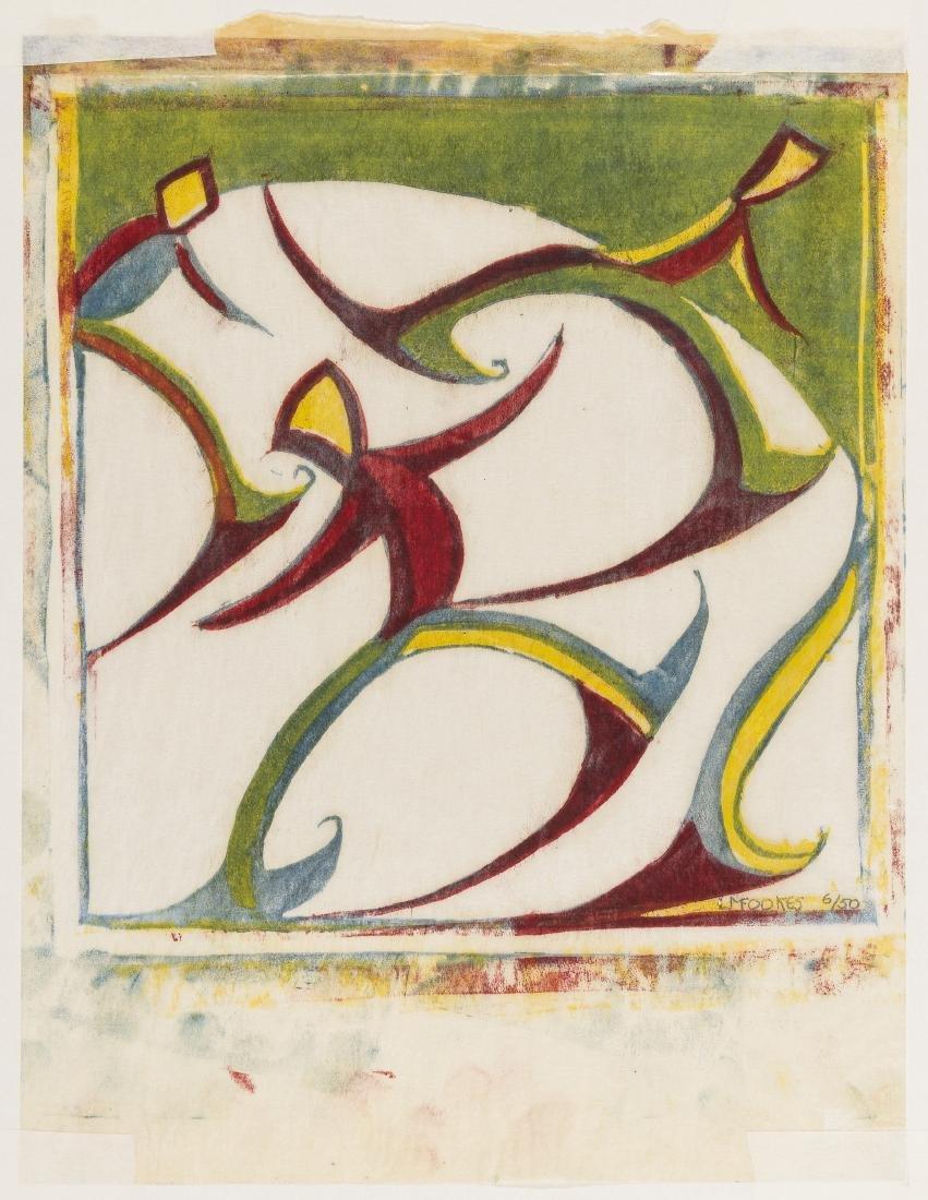 δ Ursula Fookes (1906-1991)  Skaters