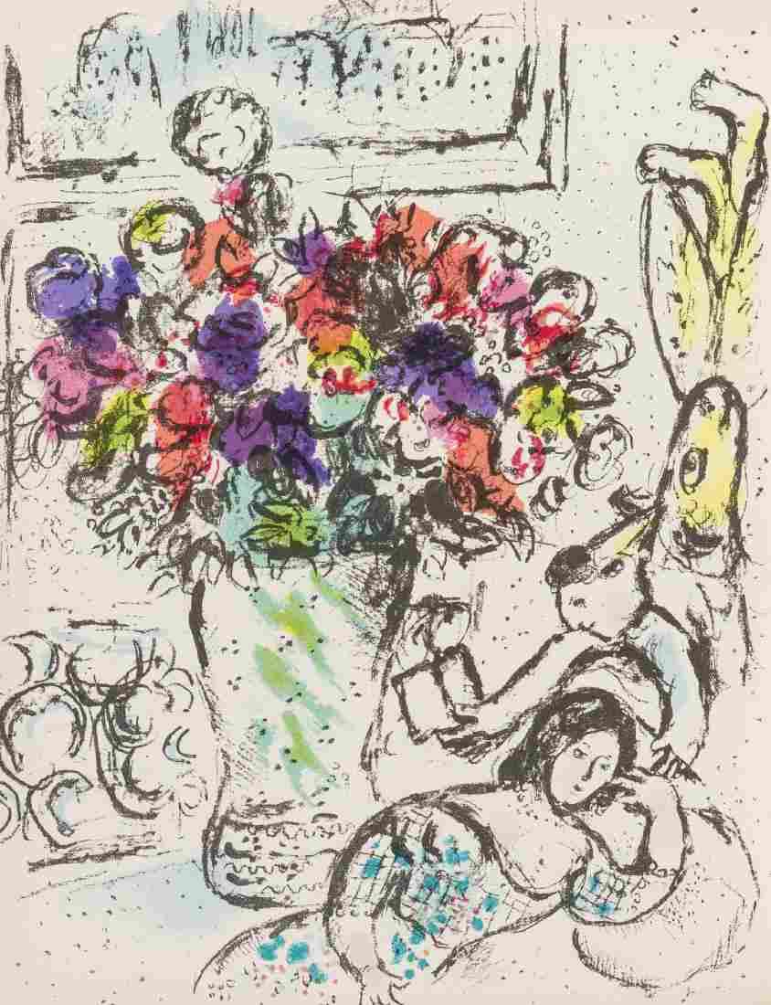 Marc Chagall (1887-1985)  Chagall Lithographe I-IV