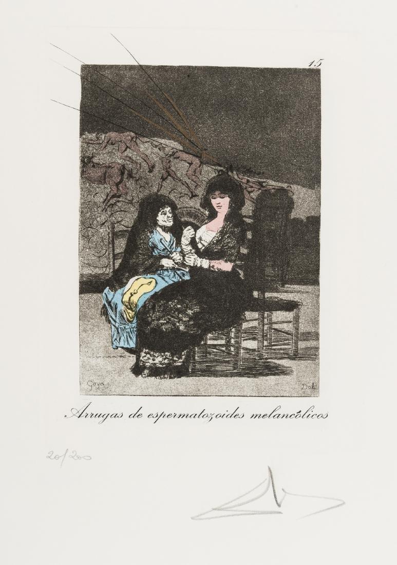 δ Salvador Dali (1904-1989)  Plate 15 (From Les