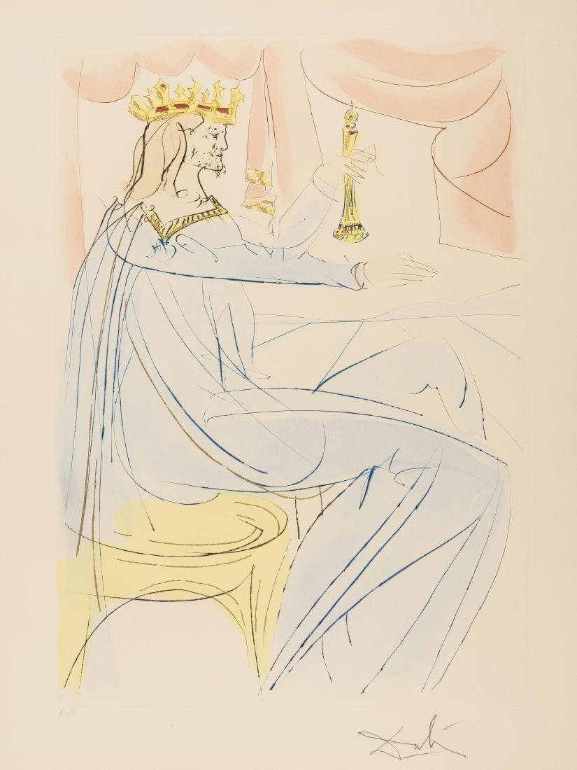 δ Salvador Dali (1904-1989)  King Solomon (from