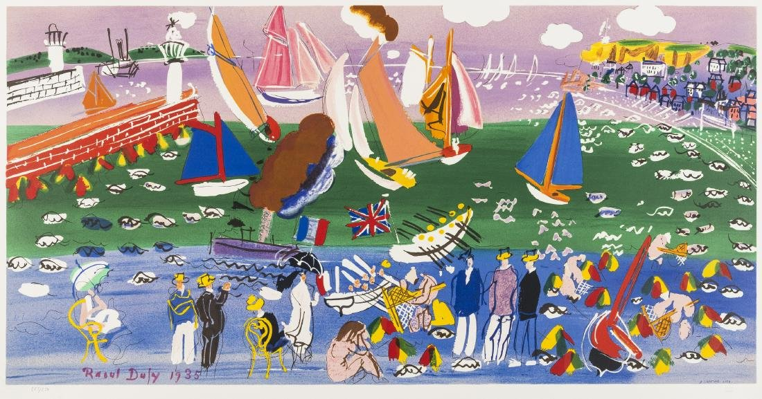 δ Raoul Dufy (1877-1953) (after)  Baie de