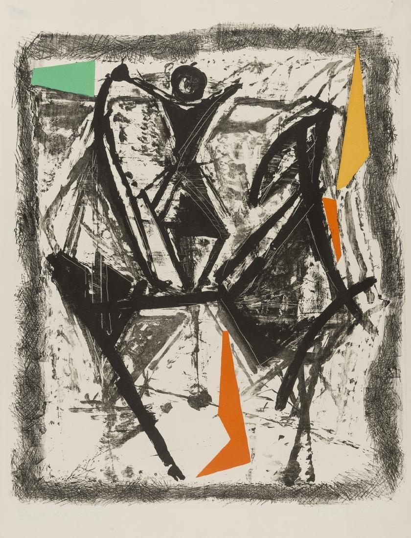 δ Marino Marini (1901-1980)  Le Cavalier (Gustalla