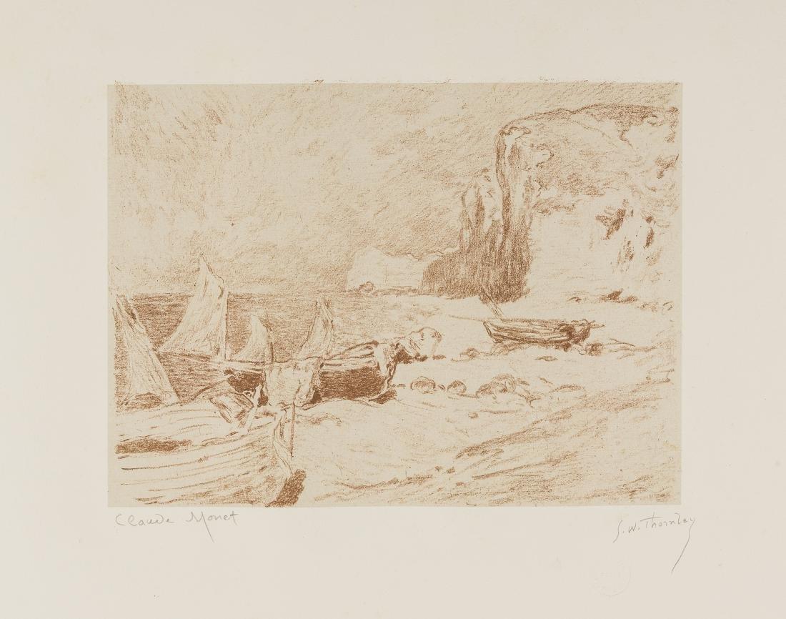 Claude Monet (1840-1926) & George-William Thornley