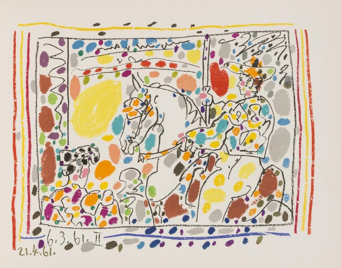 Pablo Picasso (1881-1973)  Jamie Sebartes. A lot Toros