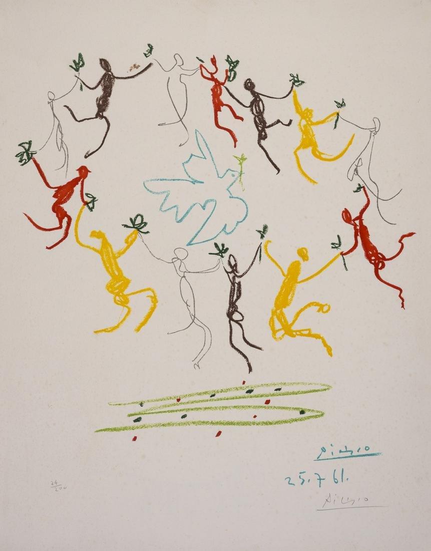 δ Pablo Picasso (1881-1973) (after)  La Ronde de