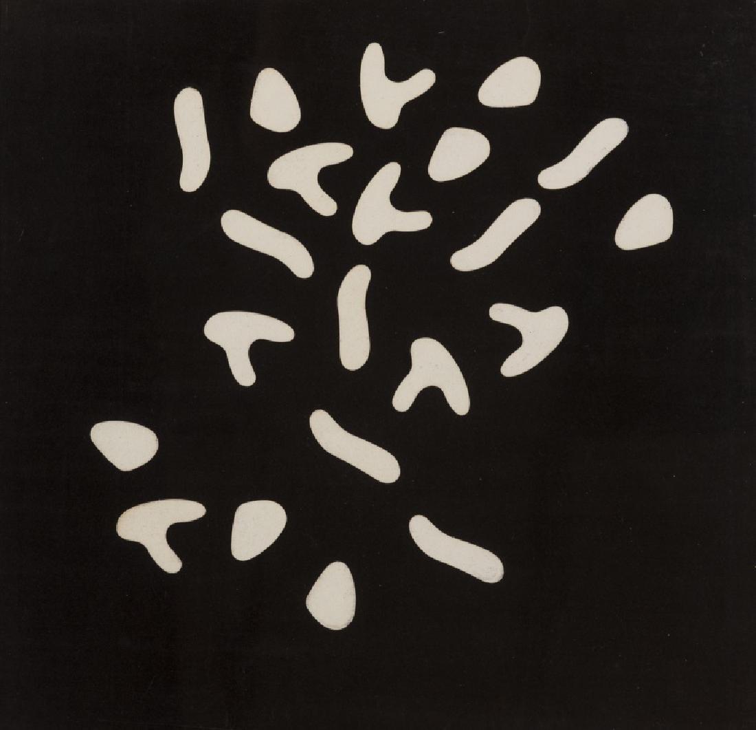 δ Hans Jean Arp (1866-1966)  Variable Picture (3 x