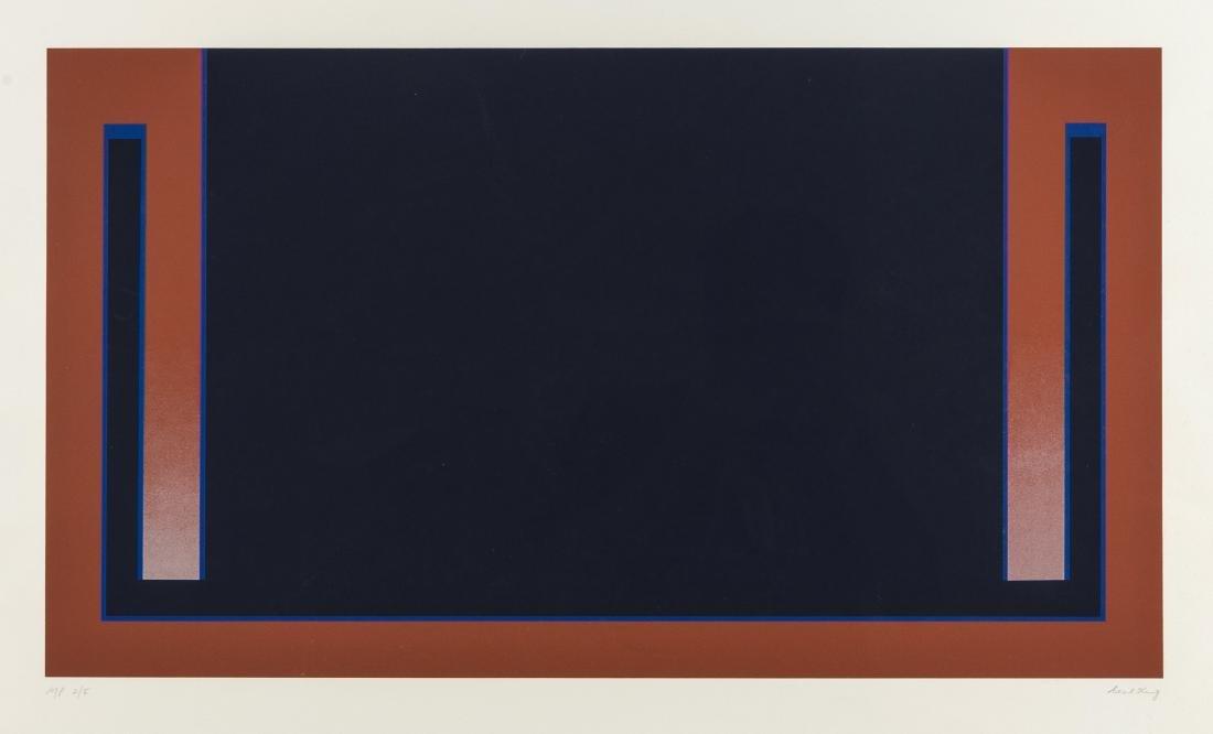 δ Cecil King (1921-1986)  Blue (from The Dubai