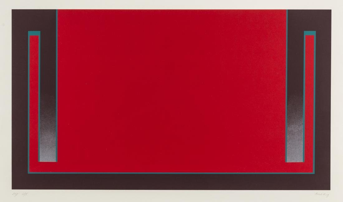 δ Cecil King (1921-1986)  Red (from The Dubai