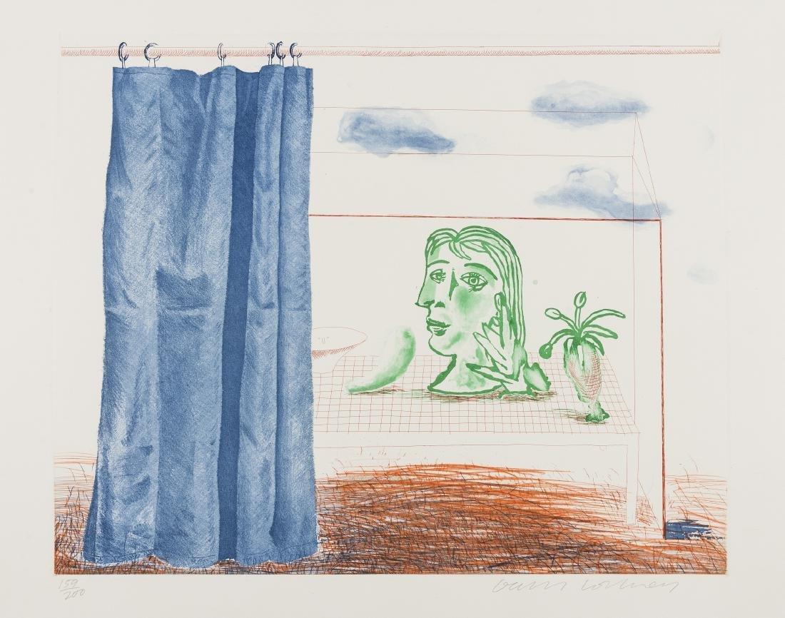 δ David Hockney (b.1937)  What is This Picasso?