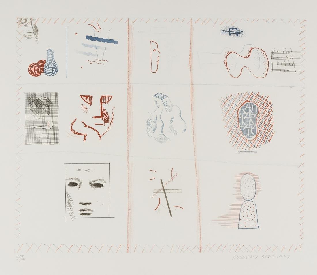 δ David Hockney (b.1937)  Franco-American Mail