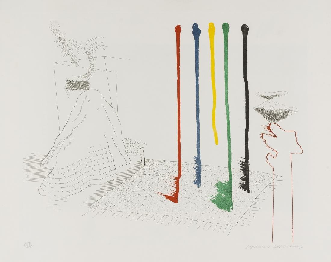 δ David Hockney (b.1937)  I Say They Are (from The