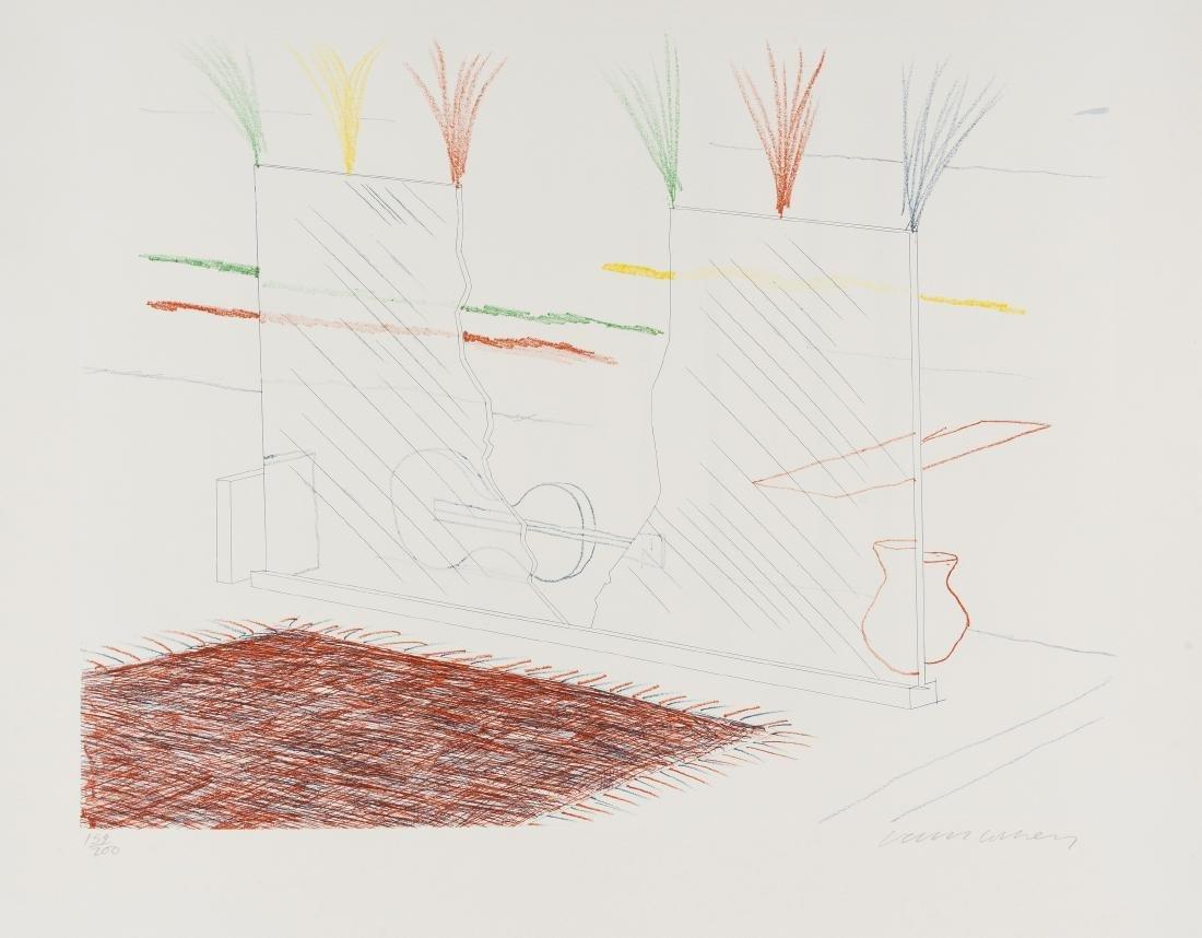 δ David Hockney (b.1937)  On it May Stay His Eye