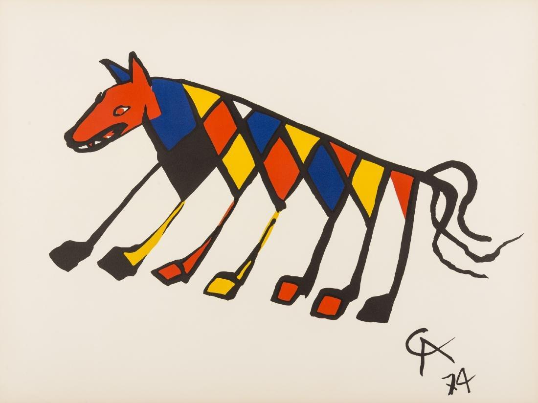 Alexander Calder (1898-1976)  Convection, Beastie,