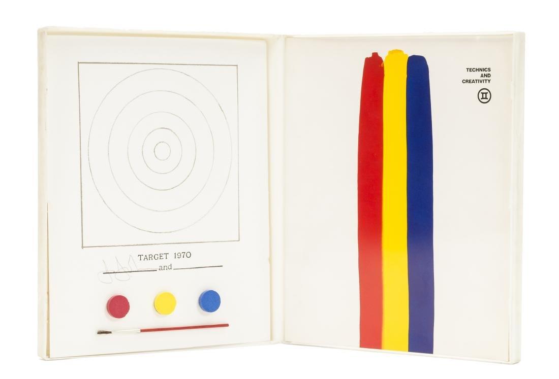 Jasper Johns (b.1930)  Technics and Creativity (Field