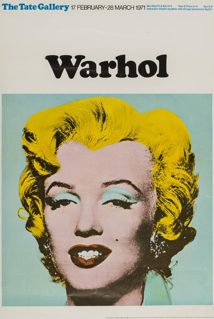 Andy Warhol (1928-1987) (after)  Poster for the Tate