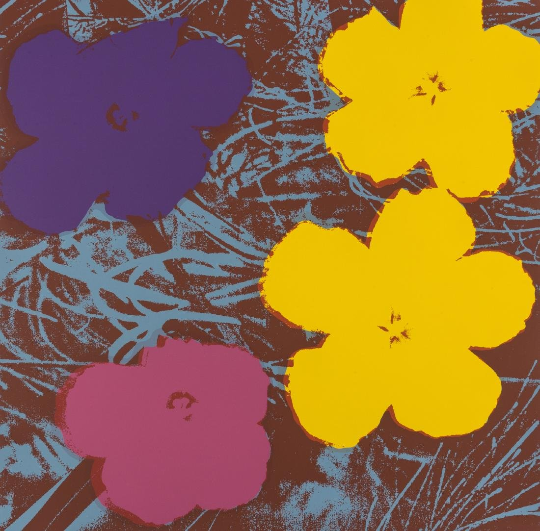 Andy Warhol (1928-1987) (after)  Flowers (Sunday B.