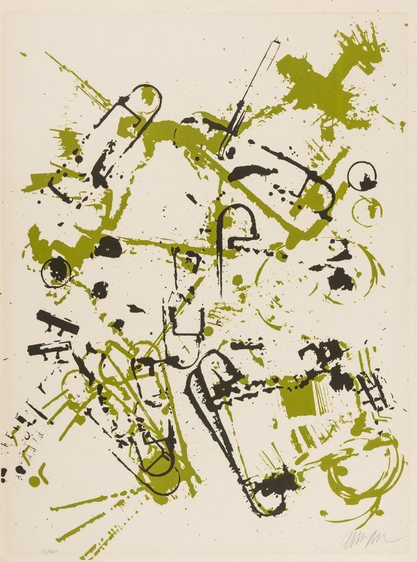 δ Arman (1928-2005)  L'Interieur des Choses II: Le