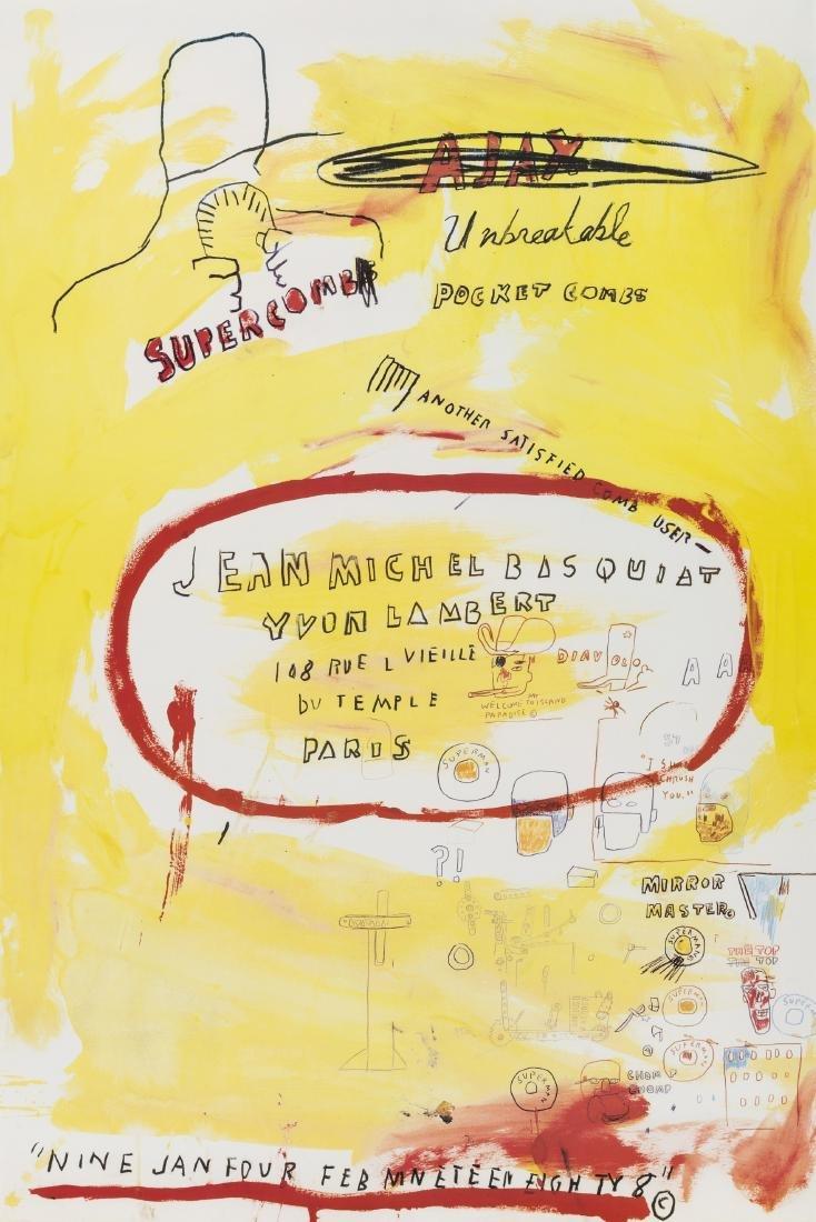 Jean-Michel Basquiat (1960-1988) (after)   Supercomb