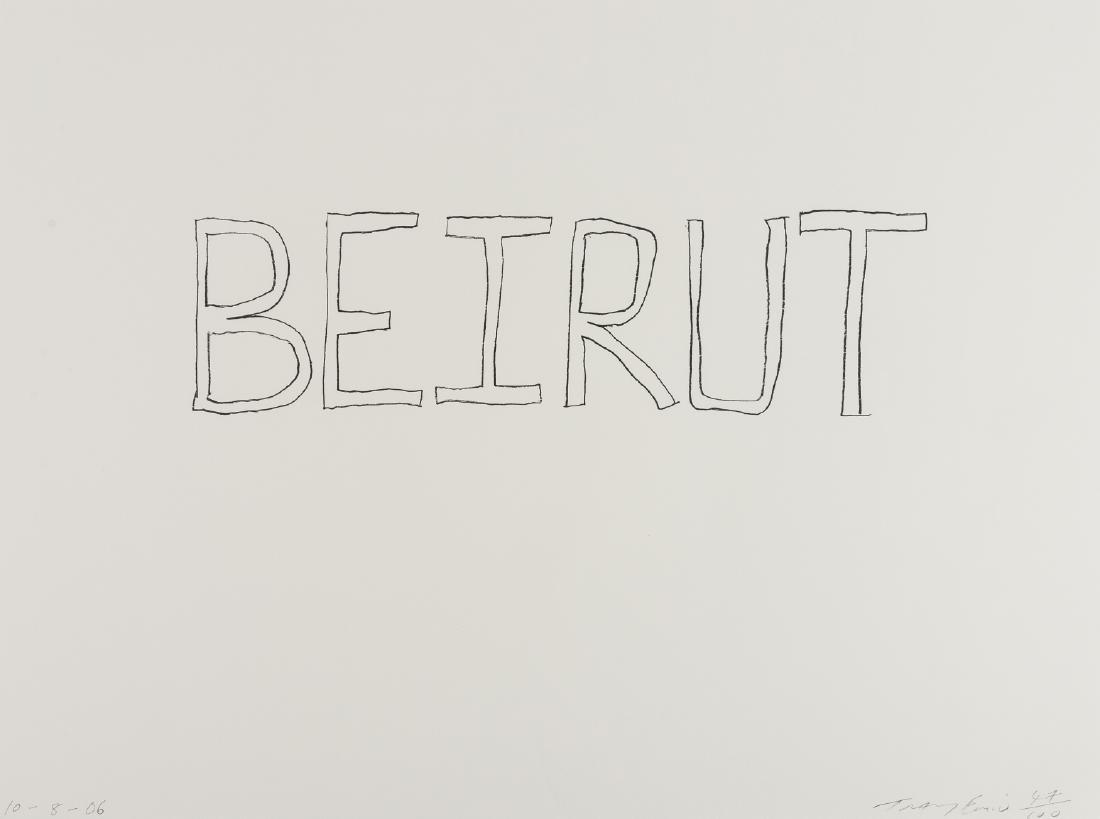 δ Tracey Emin (b.1963)  Beirut