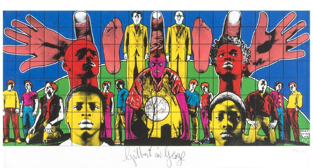 δ Gilbert and George  Death after Life
