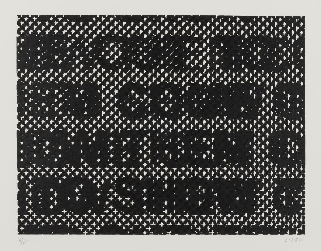 Glenn Ligon (b.1960)  Detail