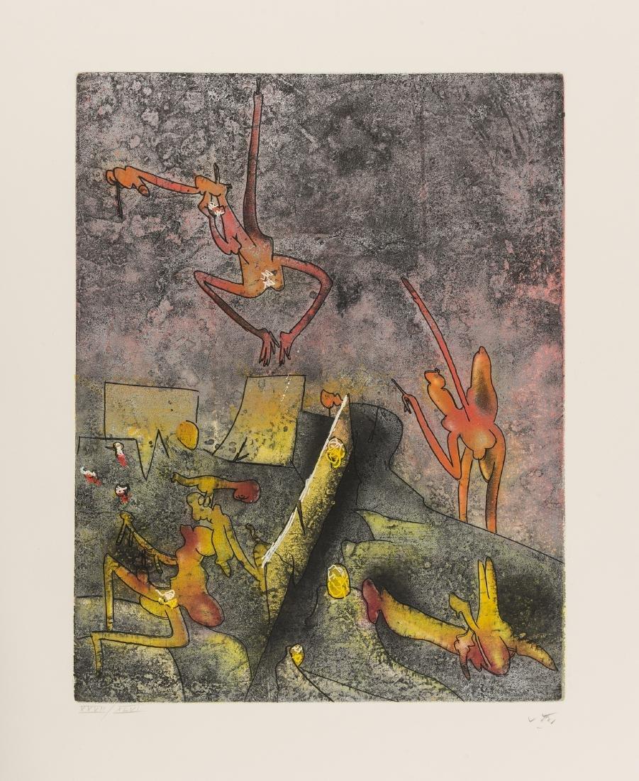 Roberto Sebastián Matta (1911-2002)  Untitled