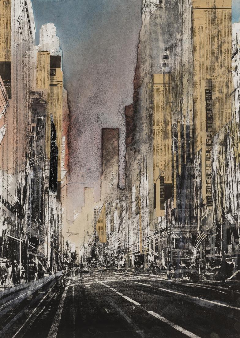 δ Gottfried Salzmann (b.1943)  Hong Kong I; New