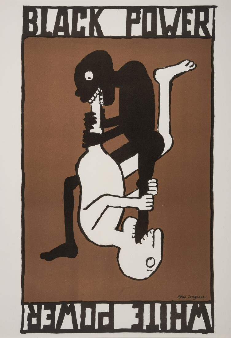 δ Tomi Ungerer (b.1931)  White Power/Black Power