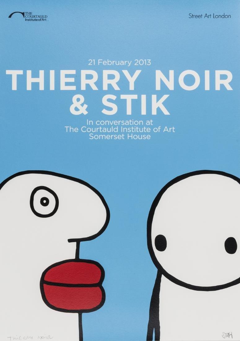 δ Stik & Thierry Noir (b.1958)  In Conversation